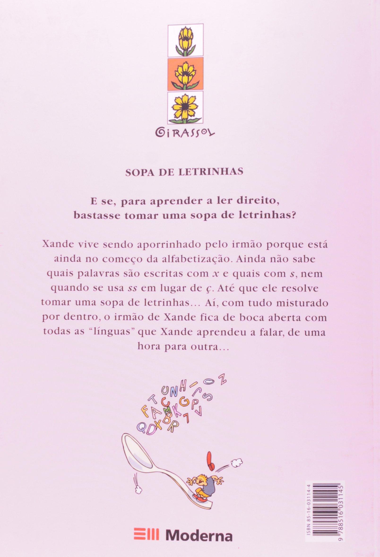 livro sopa de letrinhas de teresa noronha