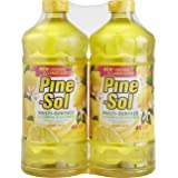 Pine-Sol Multi-Surface Cleaner, Lemon Fresh Scent, Two Count Bottle, 120 fl oz Total