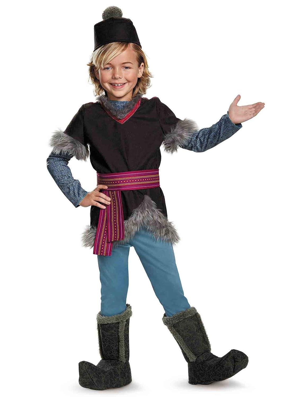 f3b2c252512f7 Amazon.com: Kristoff Deluxe Child Frozen Disney Costume, X-Small/3T-4T:  Toys & Games