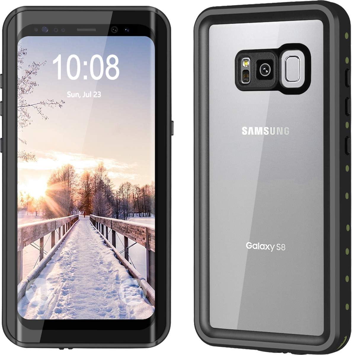 YMCCOOL - Funda impermeable para Samsung Galaxy S8 y S8 Plus ...