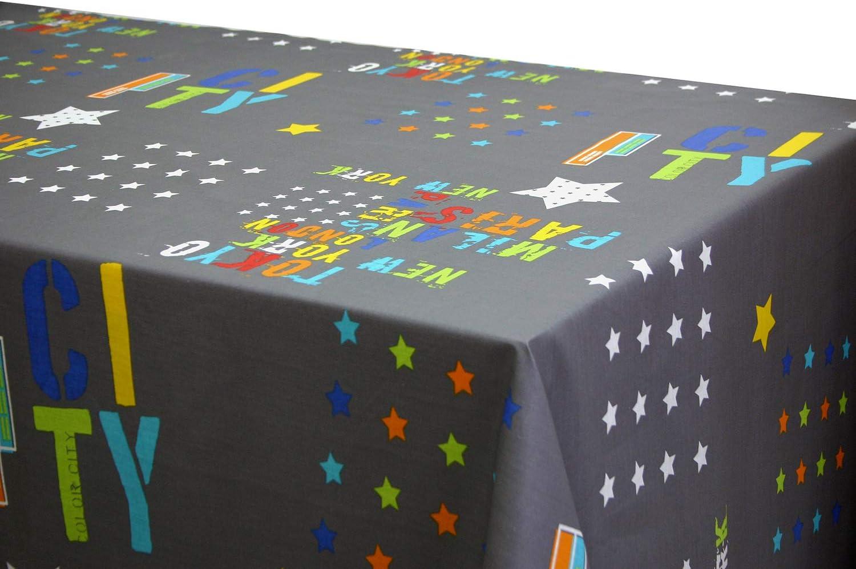 Brick, 140x140 Mantel Antimanchas Piezas de Colores