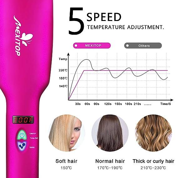 Cepillo alisador de cabello - cepillo alisador de cabello iónico ...