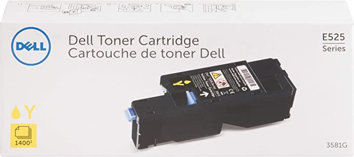 Dell 3581G Yellow Toner Cartridge for E525w Laser Printer