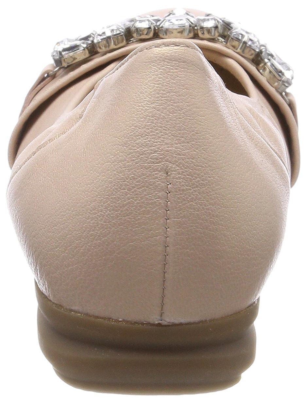 Gabor Damen Comfort Sport Ballerinas Geschlossene Ballerinas Sport Mehrfarbig (Rose) b32244