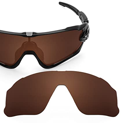 2cb180b799 Revant Polarized Replacement Lens for Oakley Jawbreaker Elite Dark Brown  Asian Fit