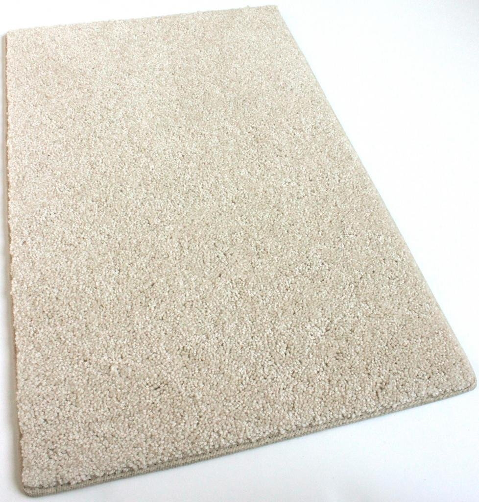 Exceptional Amazon.com: 8u0027X10u0027 Cream Area Rug Carpet. MULTIPLE SIZES, SHAPES And Rich  Cream Tone. Soft And Plush 25 Oz. StainMaster. Long Wear Soft Nylon Fiber.
