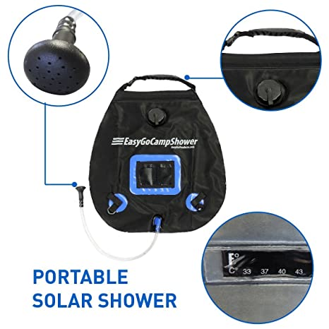 Amazon.com   EasyGO Products Camp Shower - 5 Gallon Portable Shower ... 609d72260bb4f