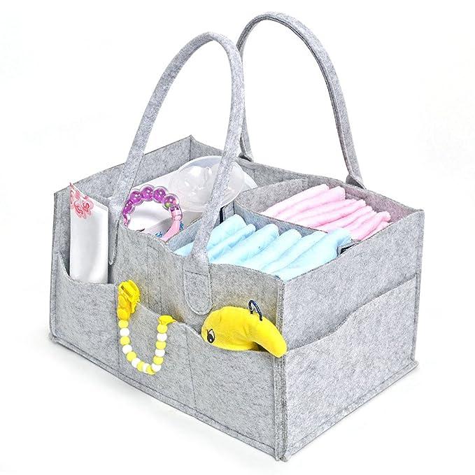 Jiyaru Portátil Bolsa Plegable Organizador Almacenamiento para Pañales de Bebé: Amazon.es: Bebé