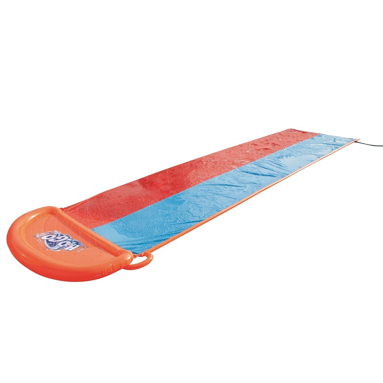 Inflatable Water Slide - Slip N Slide For Kids Toddlers With Sprinklers Splash And Double Lane - Waterslide For All Family Use In Grassy Area Outdoor With Children And Their Friends