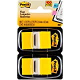 Post-it Standard Page Flags in Dispenser  1in Wide, Yellow 100 Flags, 680-YW2