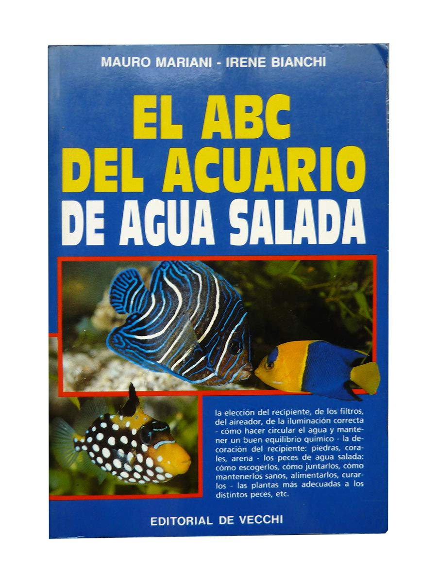 ABC del Acuario Agua Salada (Spanish Edition) (Spanish) Paperback – March, 1994