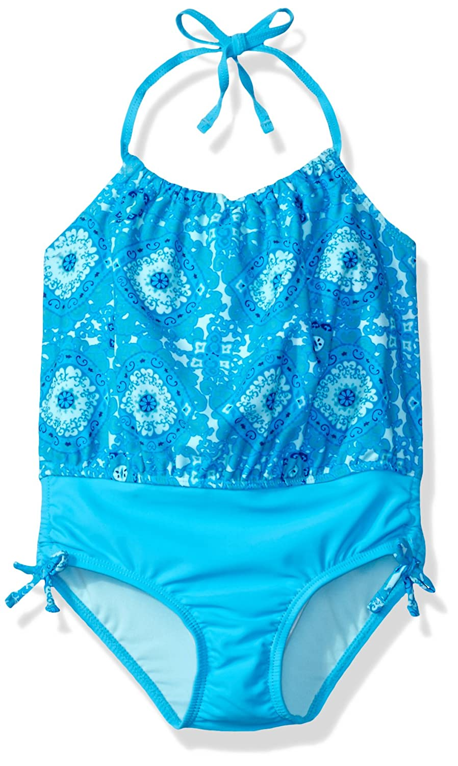 Tommy Bahama Girls One Piece Halter Tankini Swimsuit