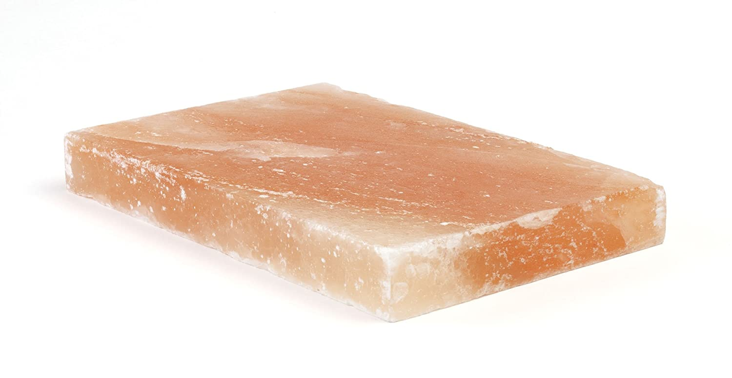 Charcoal Companion CC6036 Himalayan Salt Plate, 12 by 8 by 1.5""