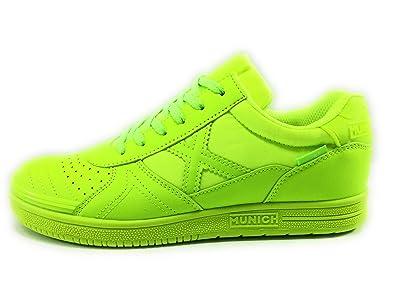 Munich G3 Velcro Zapatillas niño fútbol Sala: Amazon.es: Zapatos y complementos