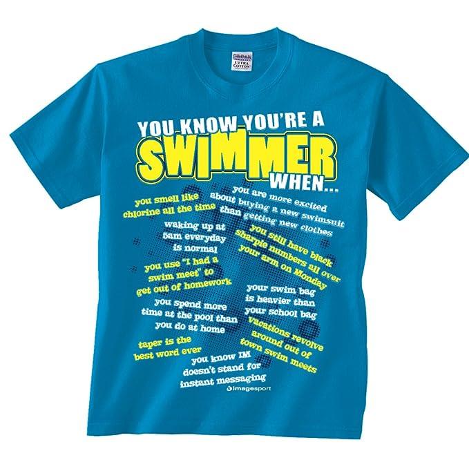 swim Adult shirt