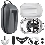 Esimen Travel Case for Oculus Quest 2 Halo Strap Face Mask Touch Controllers Accessories,Includes Multiple Oculus Quest 2 Acc