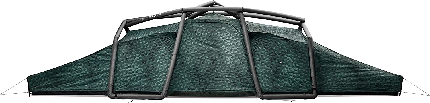 HEIMPLANET Original   Nias Classic Tunnel Tent   Inflatable Tent - Set Up in Seconds   Waterproof Outdoor Camping - 5000Mm Water Column