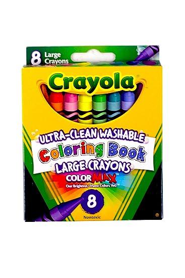 crayola coloring book large washable crayons