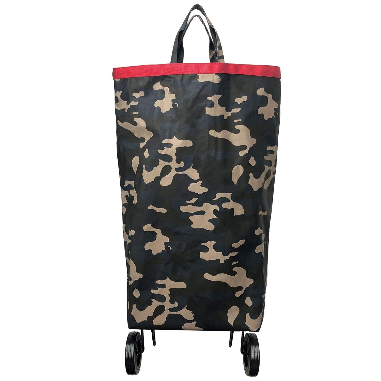 Chariot de marche  Sac à roulette Perigot Tartan Camouflage