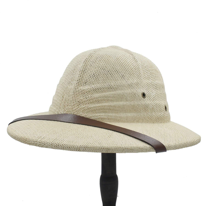 nuova collezione stati uniti carino Cappelli Caldi per Le Donne, novità Toquilla Paglia Casco Pith Sun ...