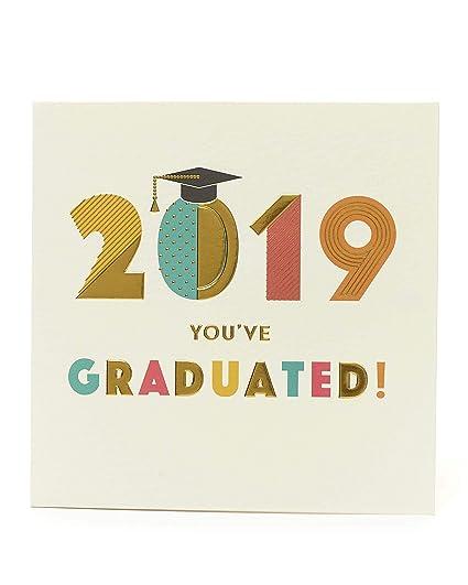 Tarjeta de graduación, regalo de graduación, tarjeta de ...