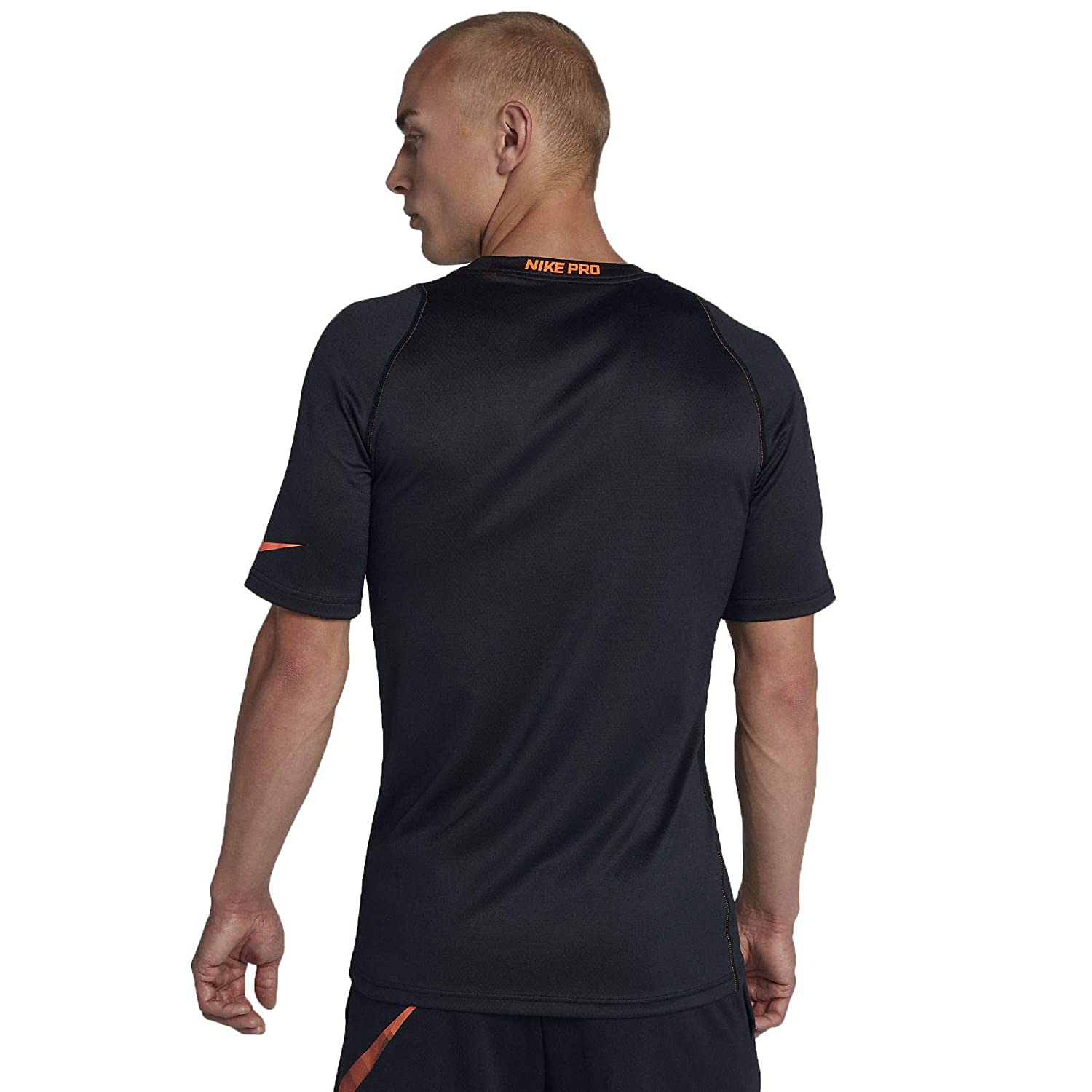 NIKE Mens Pro Fitted Short Sleeve Shirt