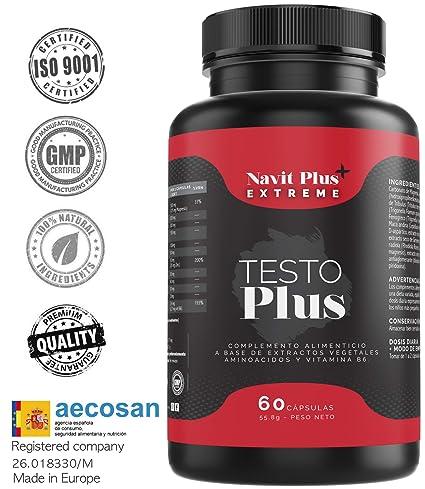Testosterona formulada con TESTOFEN + ginseng, zinc y maca. Testosterona natural REGISTRADA y avalada con estudios clínicos. Aumento de masa muscular, ...