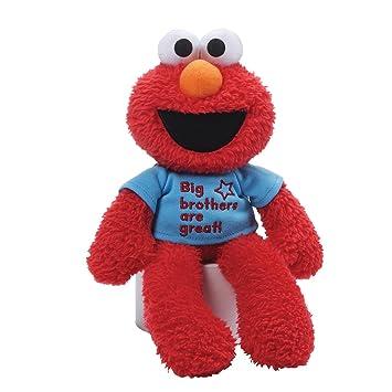 Gund Barrio Sésamo – Peluche de Elmo Brother Camiseta