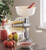 Professional Food Strainer and Sauce Maker with XL Hopper By Cucina Pro
