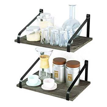 Love-KANKEI 2-Shelf Floating Shelves