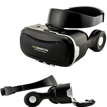 3d vr de Shin Econ Virtual Reality Gafas Auriculares integrados ...