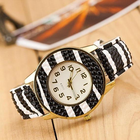 Belleza regalo distintivo Chocolate originalidad Casual relojes nueva moda mujeres niñas relojes de cuarzo reloj de pulsera aspecto especial: Amazon.es: ...