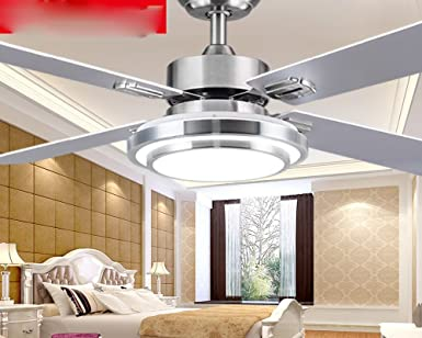 Ventilador de techo invisible, simple araña moderna, ventilador de ...