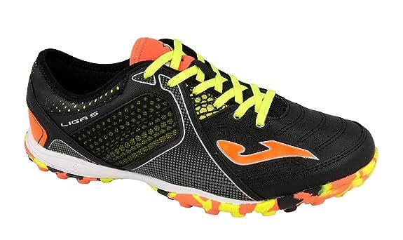 Joma Ligas _ 701 _ TF Botines de fútbol de salón Liga 5 701 Turf. Color: negro: Amazon.es: Zapatos y complementos