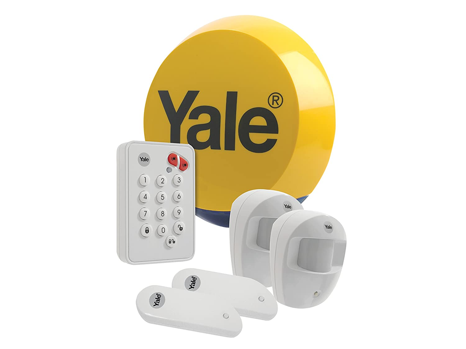 Yale Easy Fit Wireless Keypad Wire Center Irrigationvalvediagram Irrigation Master Valve Diagram Absolute Amazon Com Alarms Yefkit1 Standard Alarm Kit Home Rh