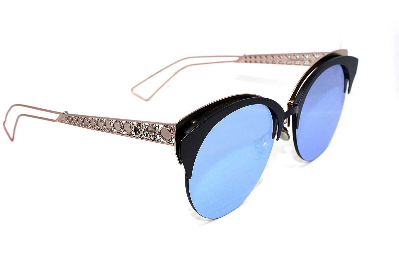 46bdfa403c3de Amazon.com  Christian Dior DioramaClub Sunglasses Matte Blue Pink w Mauve  Green Lens 55mm FBXA4 DioramaClubs Diorama Club DioramaClub s  Clothing