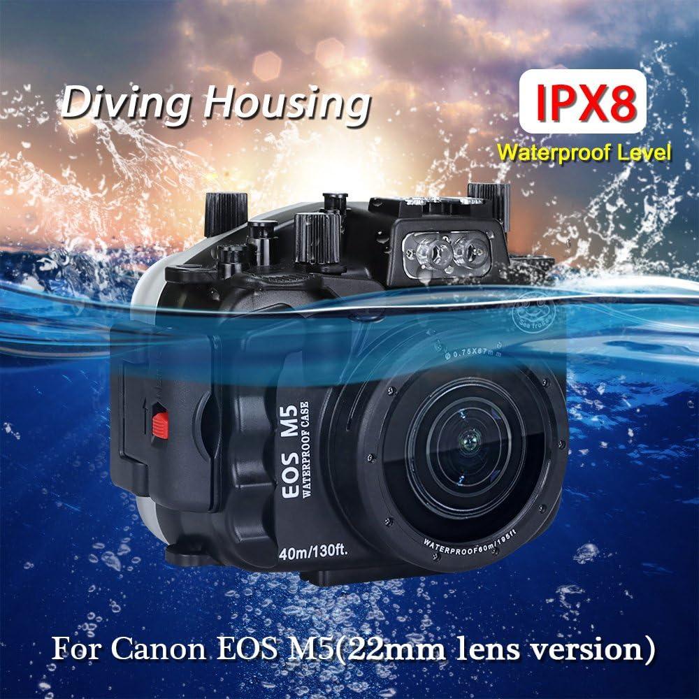 130 FT/40 m Unterwasser Kamera Tauchen Wasserdichtes Gehuse Fall ...