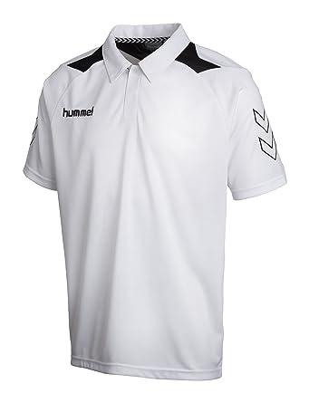 Hummel - Camiseta de fútbol sala, tamaño S, color blanco