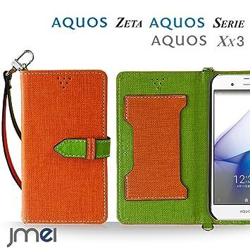 cef1f302e0 Amazon   AQUOS ZETA SH-04H ケース手帳型 アクオスフォン カバー sh-04h ...