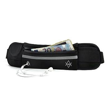 MRGoods Neopren Bauchtasche Hüfttasche wasserfest ideal für Reisen und Sport Sporttaschen & Rucksäcke