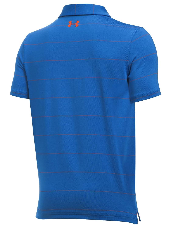 Amazon.com  Under Armour Boys  Playoff Stripe Polo Shirt  Sports   Outdoors da558ce13863f