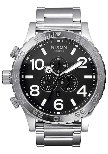 5736d073d Nixon Men's Analogue Quartz Watch with Stainless Steel Bracelet – A083-000