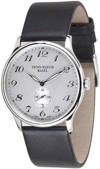 Zeno-Watch Reloj Mujer - Flat Bauhaus Quartz - 6493Q-e3: Amazon.es: Relojes