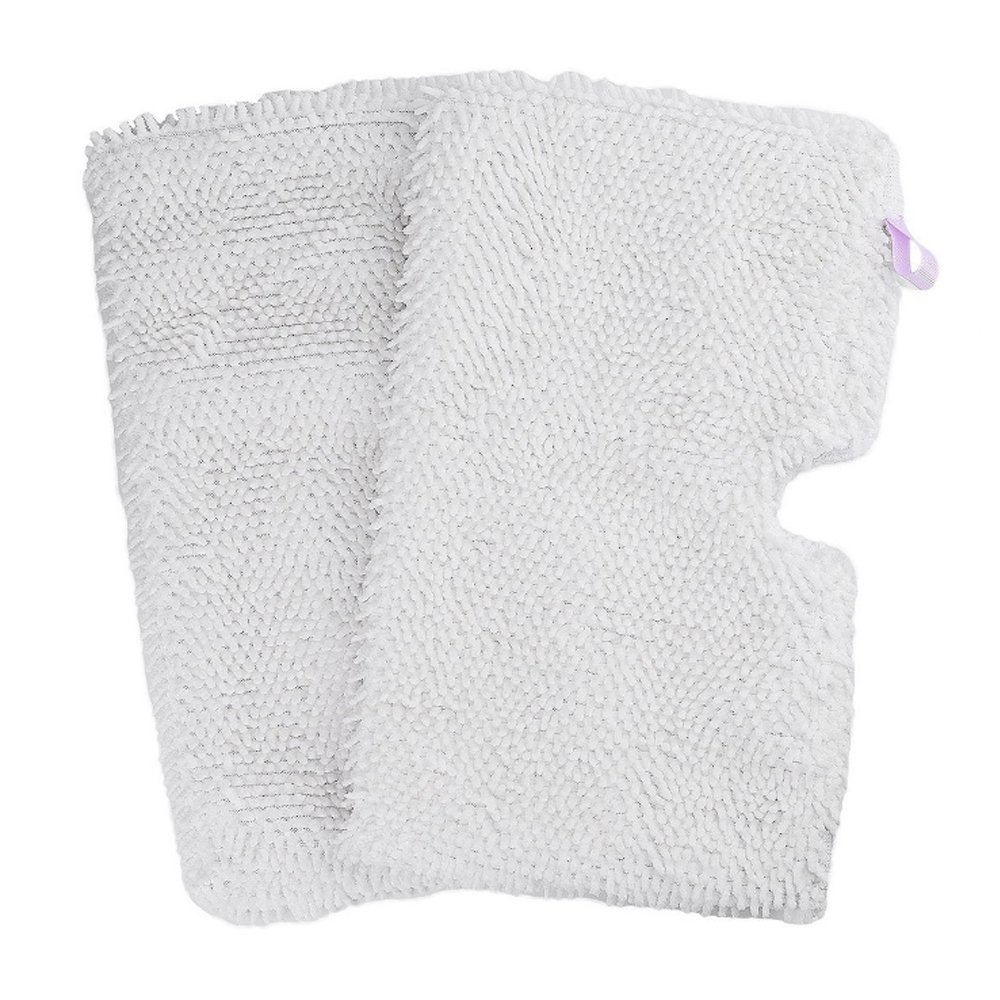 Washable Microfiber Mop Pads Cleaning Pads Replacement for Shark Steam Pocket Mops S3500 Series S3501 S3601 S3550 S3901 S3801 SE450 S3801CO S3601D (White) #29743 (2 Pack)