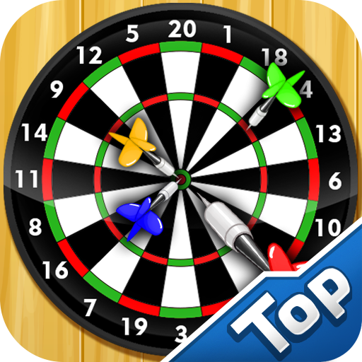 Darts Shooting Free (Skittles Game Board)