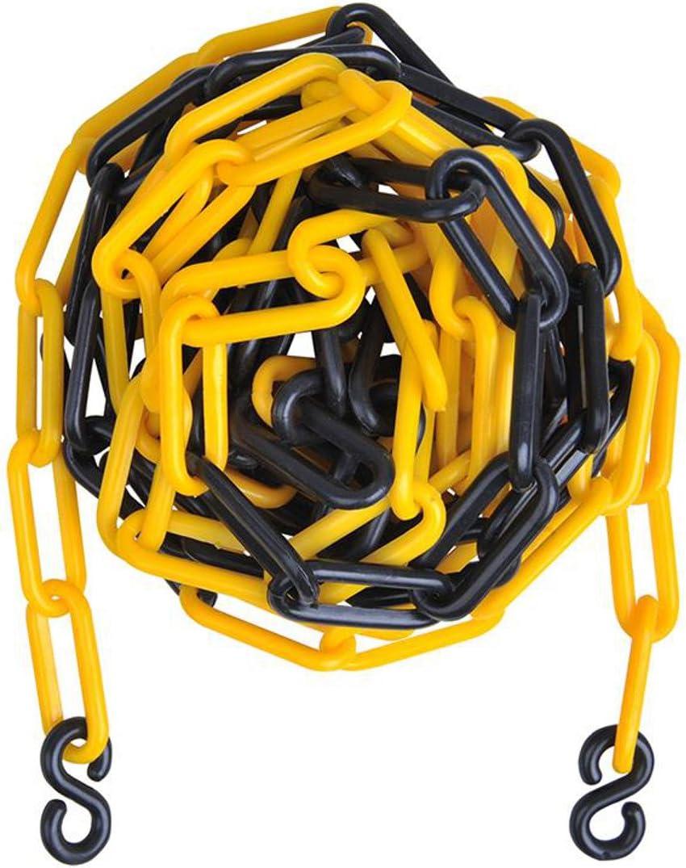 Banda 5metros bloqueo ParkWatch ø5,5mm Color a elegir plástico Cadena Nuevo Plástico Plástico Cadena de bloqueo con gancho, Amarillo