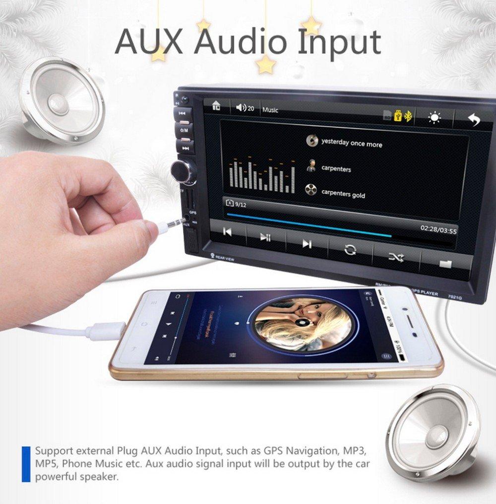 Fosa Audio 7021G Double Din, Touchscreen, Bluetooth: Amazon
