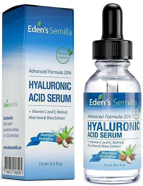 Ácido Hialurónico Serum - 15ml - Es el mejor anti-edad hidradante para el cutis