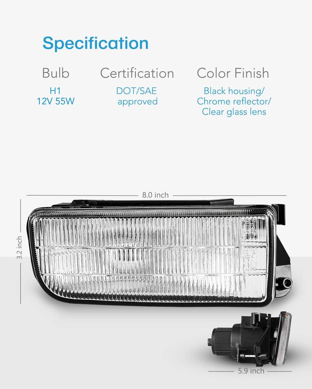 BMW 3 Series E46 Coupe 2003-2007 Spot Fog Light Lamp N//S Passenger Side Left