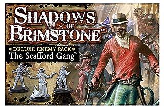 Fantasy Flight Games FFP07DE02 The Scafford Gang - Deluxe Enemy Pack: Shadows of Brimstone Exp, Multicolore Flying Frog Productions